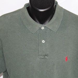 Ralph Lauren Polo 100% Cotton Mesh Pique Polo L